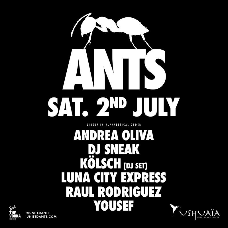 ANTS - An Underground Movement originating from Ibiza, Spain